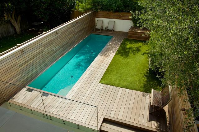 Contemporary Small Garden In Fulham London Contemporary Deck