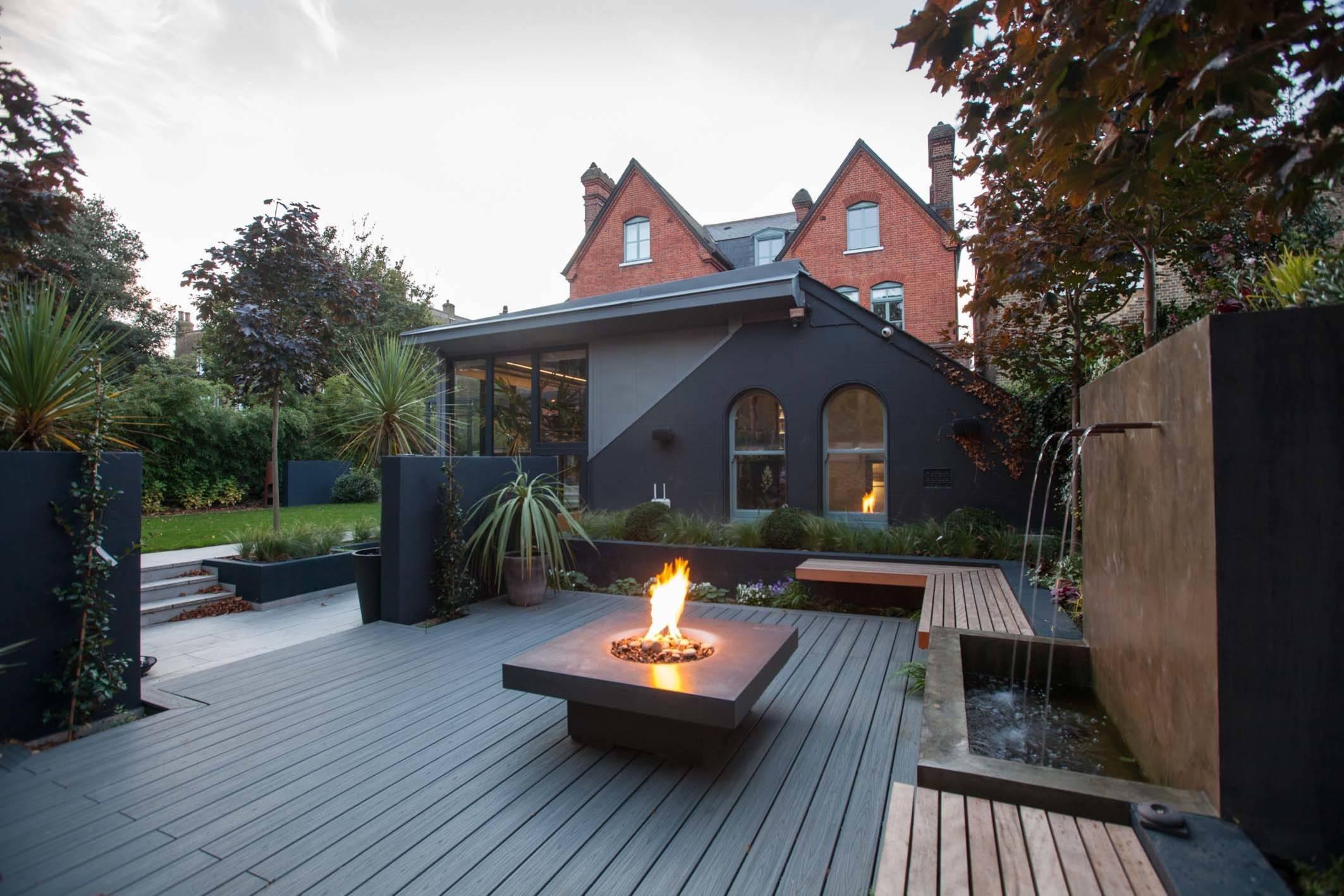 Erfrischung gefällig Ein Wasserspiel für Garten oder Terrasse