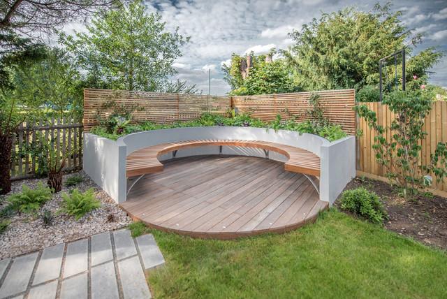 Garden design turney road dulwich 7 contemporary for Garden design ideas perth wa