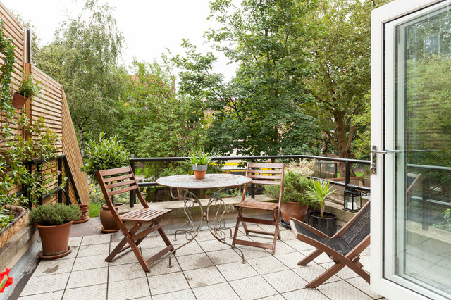 Hackney Scandinavian Inspiration - Terrasse - London - von Chris Snook