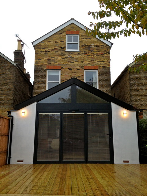 Kingston victorian house full renovation modern for Renovating a victorian terraced house