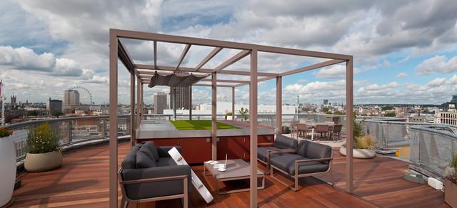 Apartment balcony terraces: inspiring decor ideas for small ...