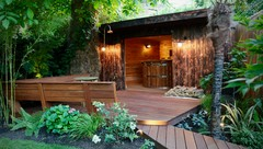 Garden Tour: A Tropical Haven With Space for Play and Socialising