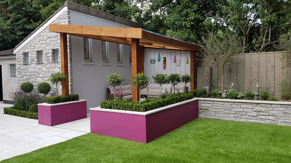 Foto di una terrazza design