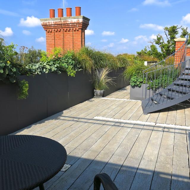 Roof Terrace Garden Design: Roof Terrace Kent