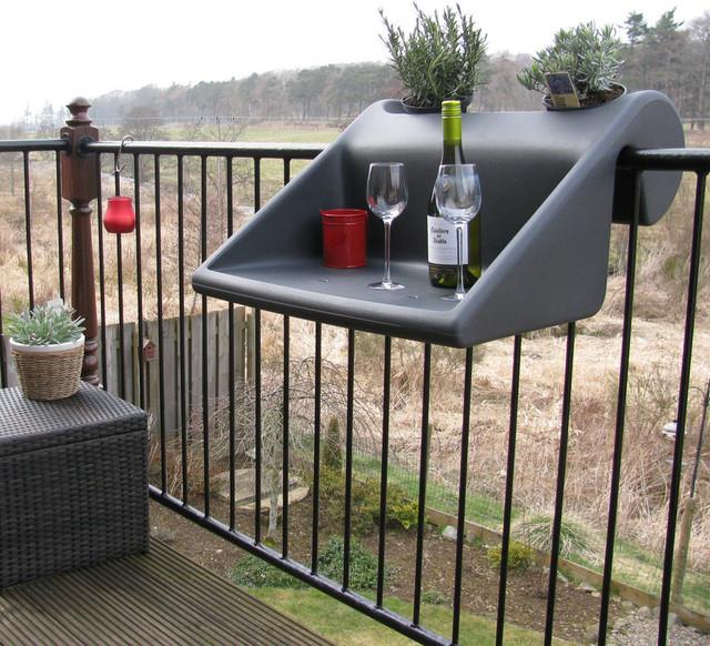 Balkonzept tisch  /ablage balkon, terrasse   trendy   terrasse ...