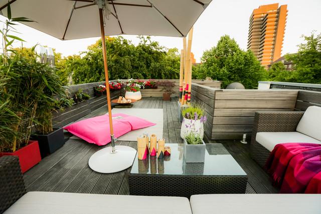 Modern Terrasse By Die Balkongestalter