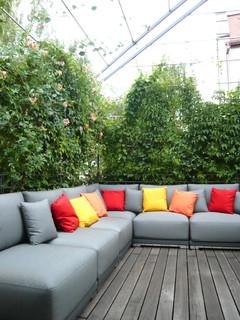 dachterrassengestaltung m nchen au modern terrasse. Black Bedroom Furniture Sets. Home Design Ideas