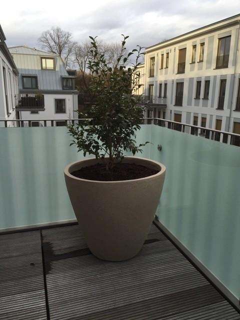Moderne Pflanzgefäße Terrasse exklusive pflanzgefäße modern terrasse münchen barbara