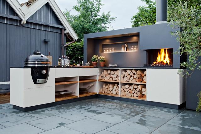 Outdoorküche Arbeitsplatte Usa : Kleine fluchten outdoorküchen die appetit machen