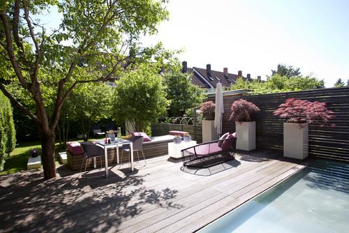 Sichtschutz Terrassen Stilvoll Vor Einblicken Schutzen