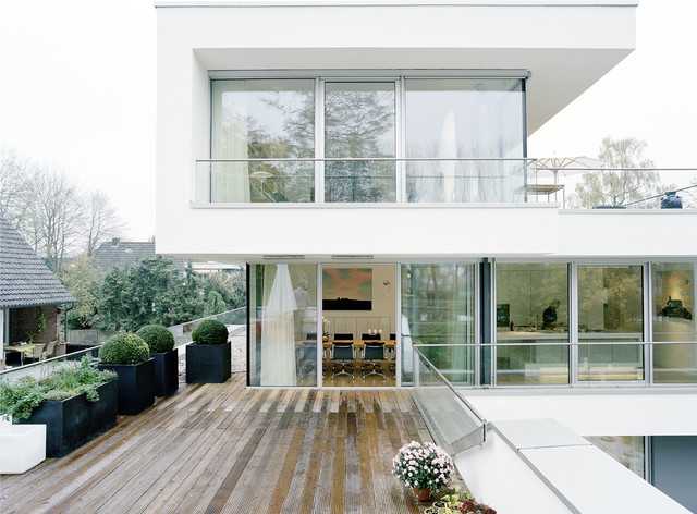 Architekten Lingen haus am wasser lingen modern deck berlin by deeken architekten