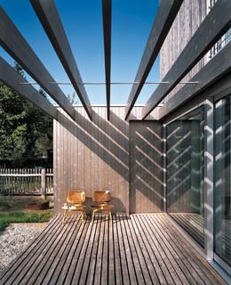 haus g m nchen silberhaus modern terrasse m nchen. Black Bedroom Furniture Sets. Home Design Ideas