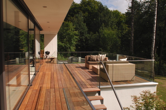 holzterrasse starnberg 3 contemporary deck munich by die holzterrasse. Black Bedroom Furniture Sets. Home Design Ideas