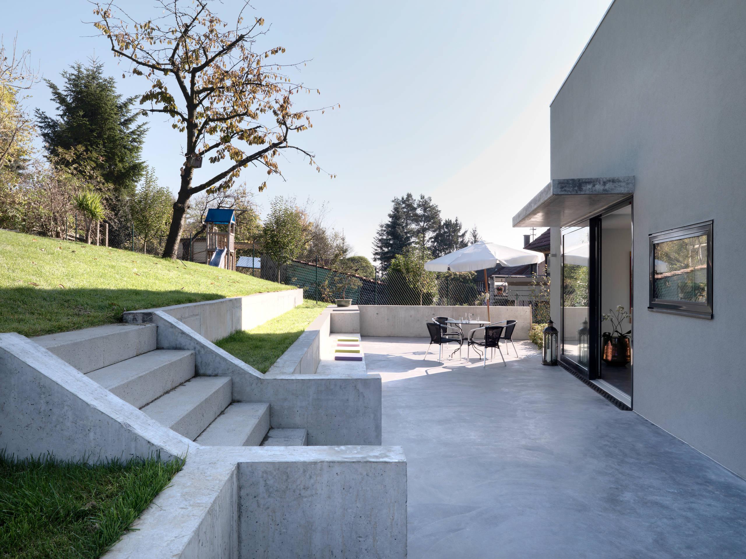 Beton Terrasse   Ideen & Bilder   HOUZZ