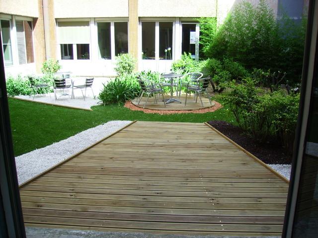 Jardin zen for Jardin terrasse zen