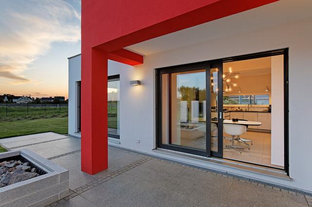 Musterhaus Heßdorf luxhaus musterhaus hessdorf nürnberg modern terrasse nürnberg