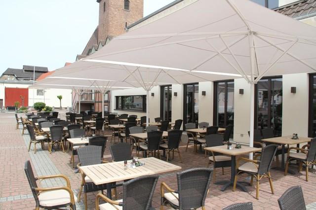 may schattello gastro sonnenschirme mediterran terrasse hamburg von schirmherrschaft. Black Bedroom Furniture Sets. Home Design Ideas