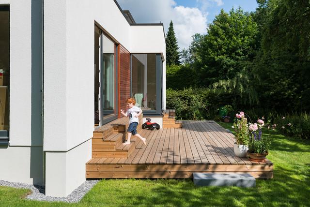 modernisierung anbau zweifamilienhaus hamburg wellingsb ttel modern terrasse hamburg. Black Bedroom Furniture Sets. Home Design Ideas