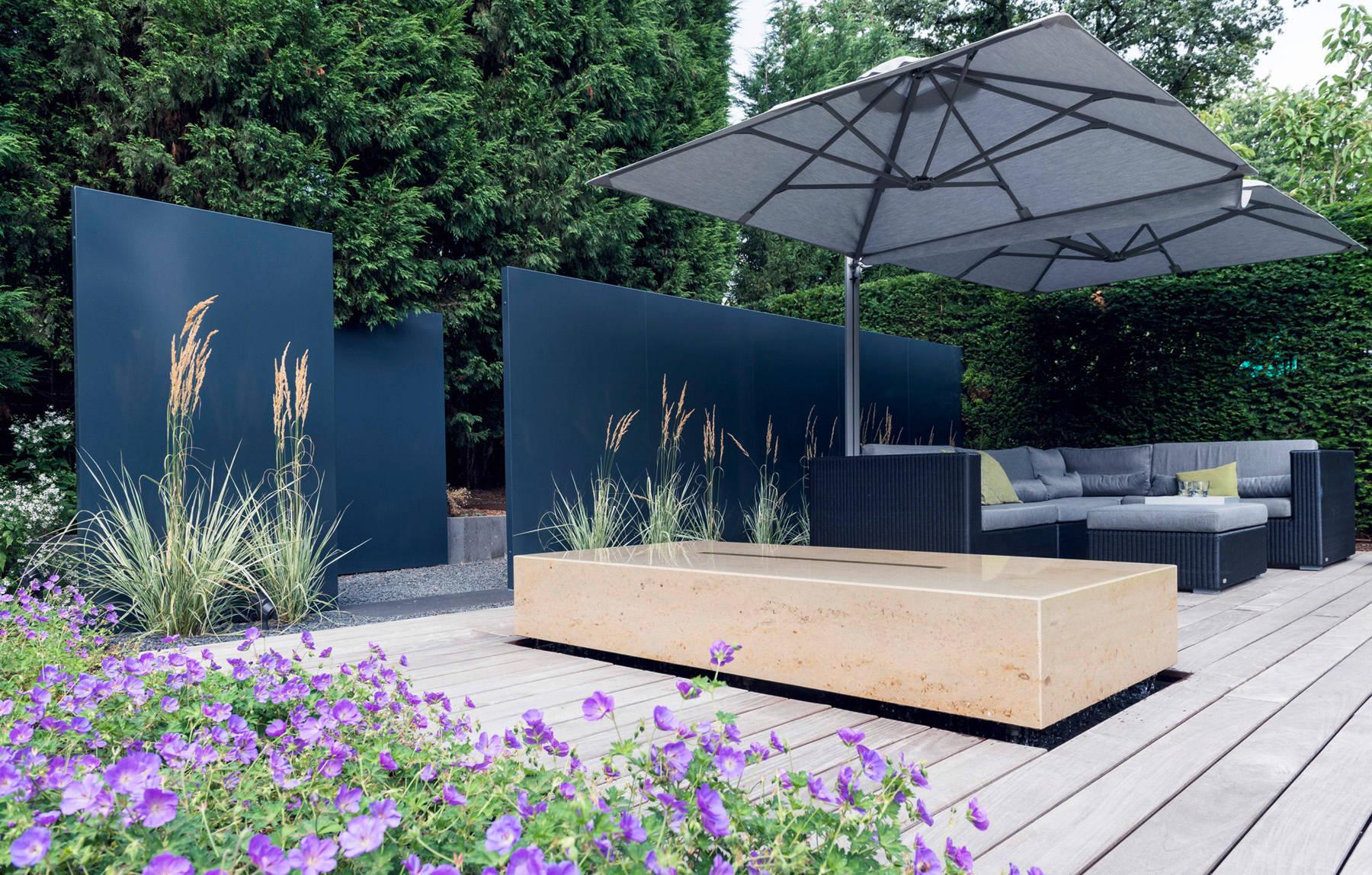 Sichtschutz für Terrassen 20 Profi Gestaltungsideen