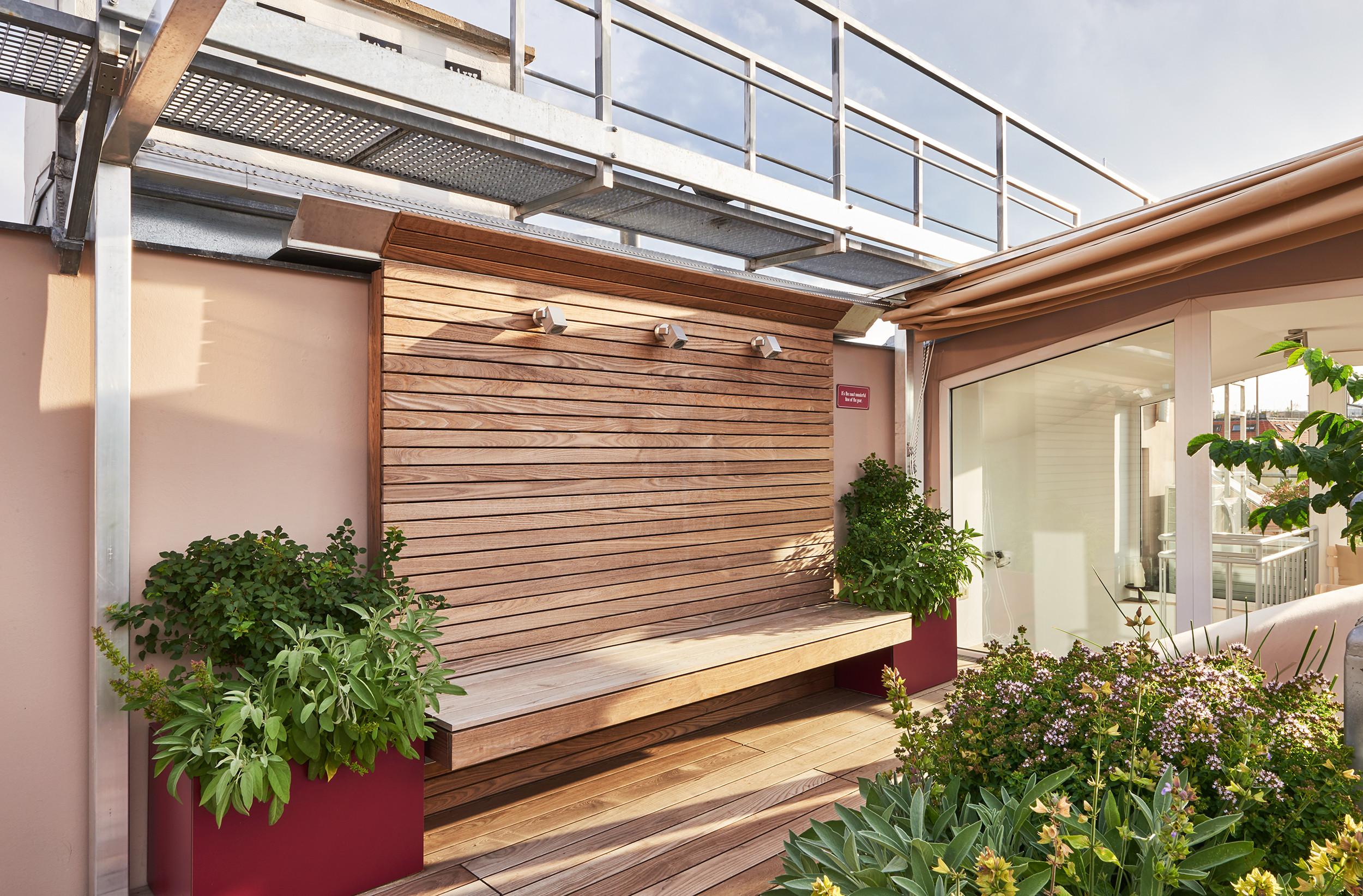 Sehenswerte Fassaden 20 Ideen für Terrassenwände
