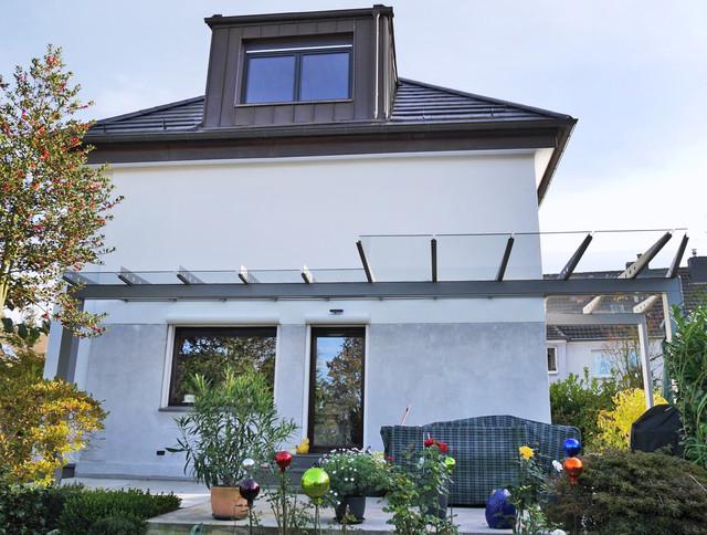 Glasdach Terrasse terrassen überdachung als filigranes glasdach