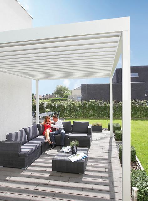 Terrassen-Überdachung RENSON Algarve, Lamellendach
