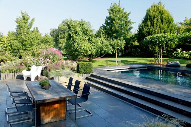 Traumgärten traumgärten modern terrasse essen verband galabau nrw
