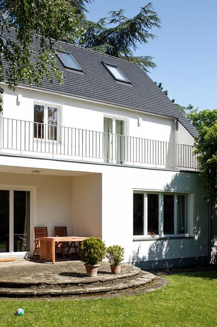 umbau siedlungshaus landhausstil terrasse k ln von. Black Bedroom Furniture Sets. Home Design Ideas
