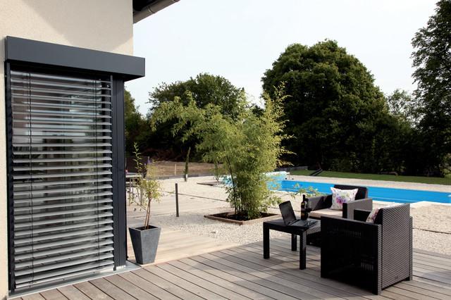 vio 302 sch ner wohnen sch ner sparen modern terrasse sonstige von fingerhaus gmbh. Black Bedroom Furniture Sets. Home Design Ideas
