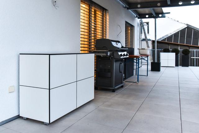win gartenschrank | outdoorschrank - Modern - Terrace - Munich - by ...