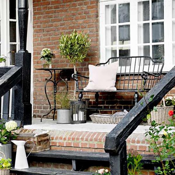 Inspiration til havemøbler   skandinavisk   terrasse & altan ...