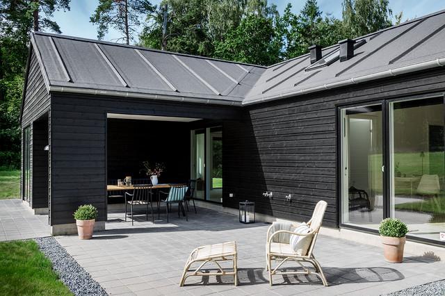 trend sommerhus moderne og enkelt moderne terrasse. Black Bedroom Furniture Sets. Home Design Ideas