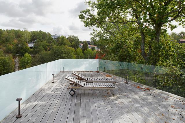 Villa k   skandinavisk   terrasse & altan   other metro   af bahri ...