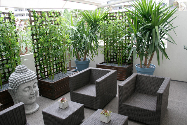 Agencement d\'une terrasse - Asiatisch - Patio - Sonstige - von JMD ...