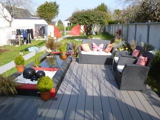 Am nagement d 39 un jardin japonais sur pontivy for Jardin japonais sur terrasse
