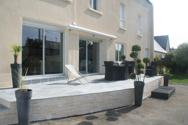 Amenagement terrasse exterieur moderne - Photo de terrasse moderne ...