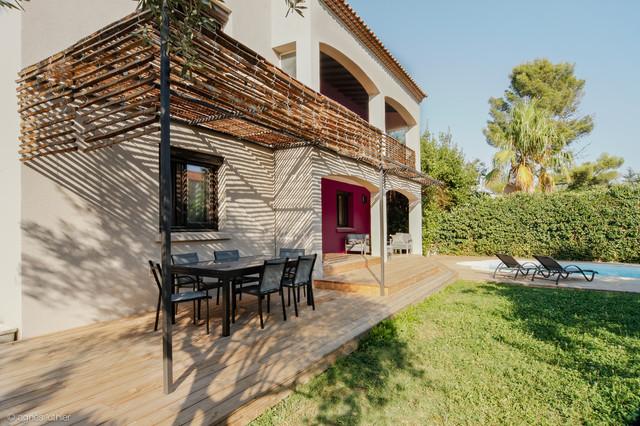 aménagement extérieur – terrasses – protection solaire ...