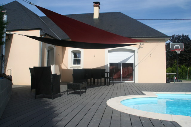 Am nagement plage de piscine modern deck other by eurl olivier dubois for Amenagement piscine