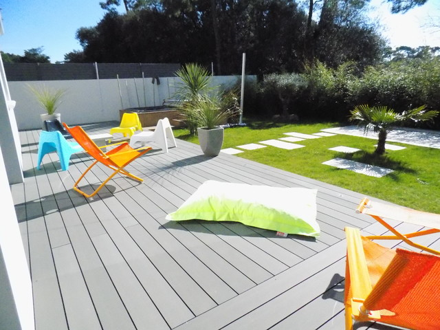 Am nager un jardin d une r sidence au design tr s for Amenager un petit jardin contemporain