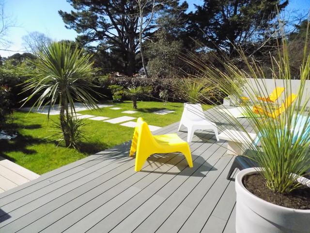 Aménager un jardin d\'une résidence au design très contemporain ...