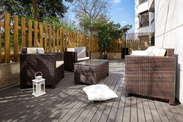 Appartement 90m2 + Terrasse - Levallois Perret - Scandinave - Terrasse ...