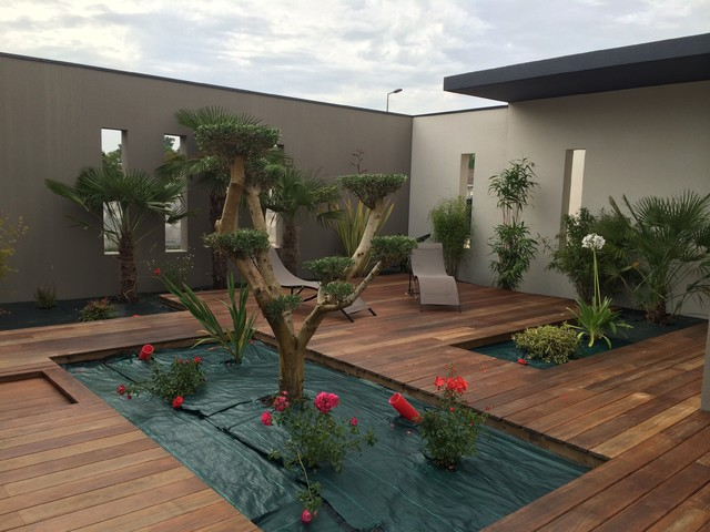 Construction Toit Terr # Construction Terrasse En Bois