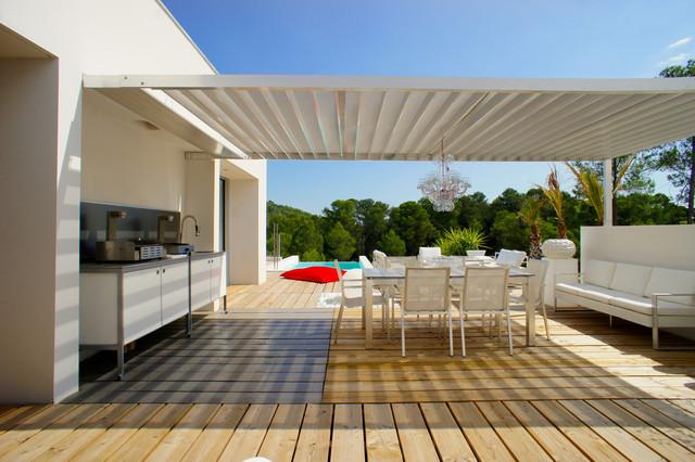 Décoration d\'une villa sur les Parcs des Vautes, Nord de Montpellier ...