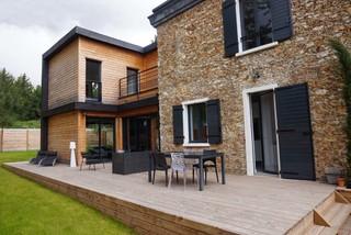 Extension et r novation d 39 une maison en meuli re for Decoration maison annee 60