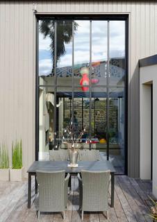 extension toute en hauteur. Black Bedroom Furniture Sets. Home Design Ideas