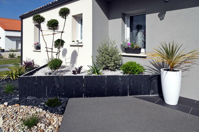 Plantes d 39 agr ment contemporain entr e nantes par for Plantes jardin contemporain