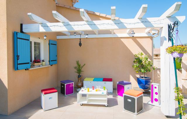 flight 38 flight case et meubles clectique terrasse et patio grenoble par alexandre. Black Bedroom Furniture Sets. Home Design Ideas