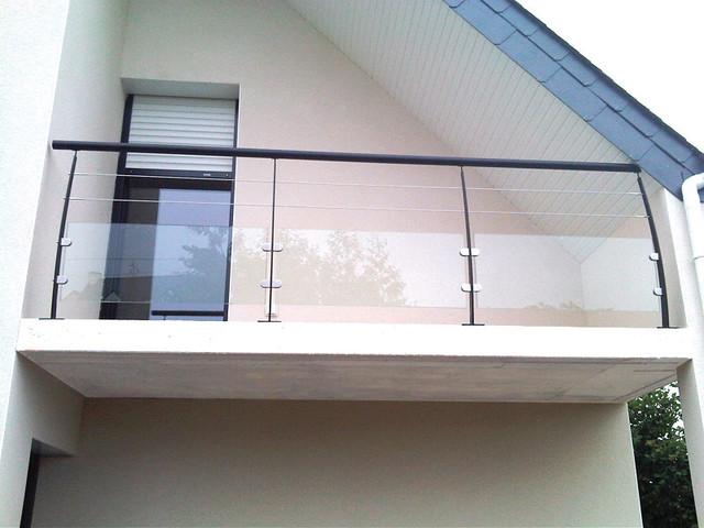 garde corps balcon moderne qx69 jornalagora. Black Bedroom Furniture Sets. Home Design Ideas