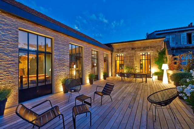 HA 21 maison en ville - Modern - Terrasse - Bordeaux - von HYBRE ...